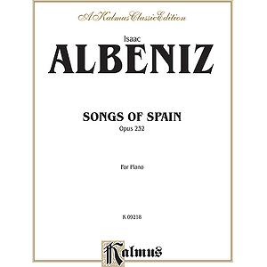 Albeniz Songs Of Spian