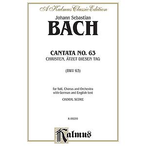 Bach Cantata No. 63