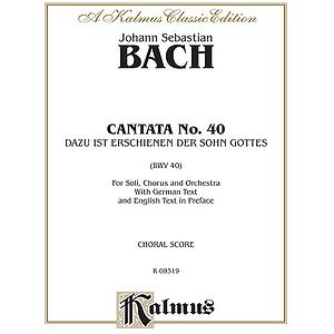 Bach Cantata No. 40
