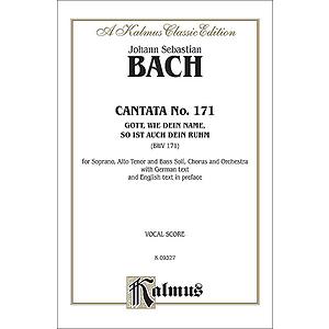 Bach Cantata No. 171