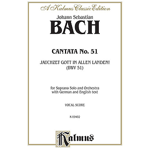 Bach Cantata No. 51