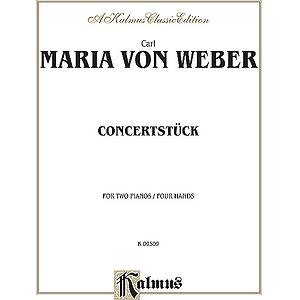 Weber  Concertstruck Op.79 (2p4h)