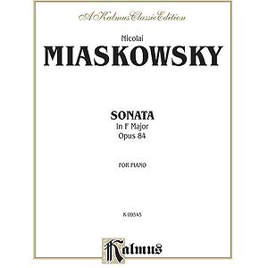 Miaskowsky Sonata (Op.84) F Mjor