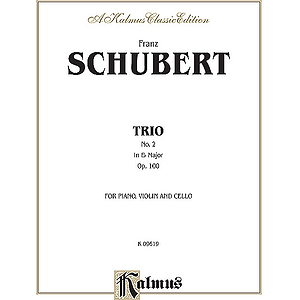 Schubert Trio No 2 In Eb Maj Op1