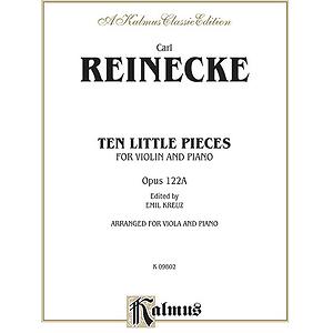 Reinecke 10 Petits Morceaux Op 1