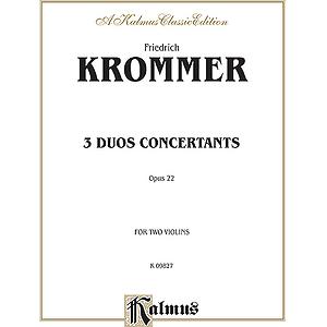 Krommer 3 Duos Conc.op.22 2vln