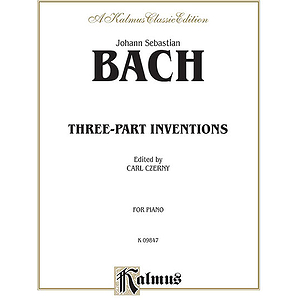 Bach Three Part Inventions (Czerny)