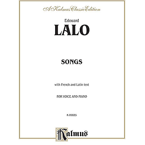 Lalo Melodies For Voice Et Piano