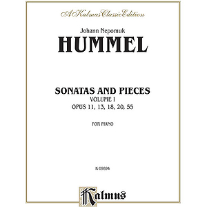 Sonatas And Pieces Volume I