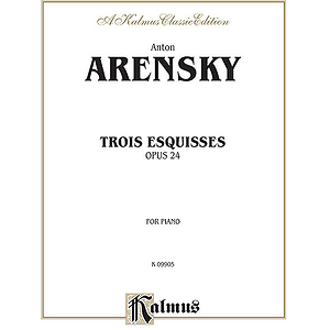 Three Esquisses Op. 24
