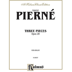 Three Pieces Op. 29