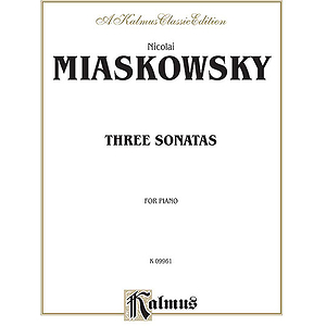 Miaskowsky  Three Sonatas