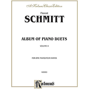 Schmitt Album Of Piano Duets Volume 2 (Collection)