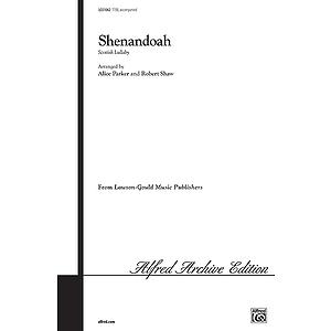 Shenandoah Ttbb Arr Parker Shaw