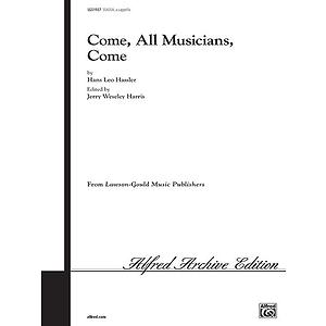 Come All Musicians