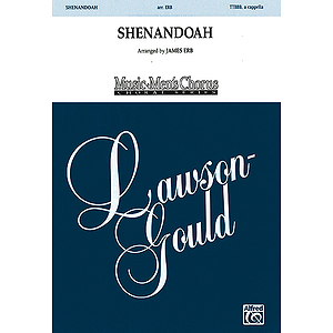 Shenandoah Five Part Male Arr Erb