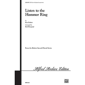 Listen To The Hammer Ring Satb Arr Krogstad