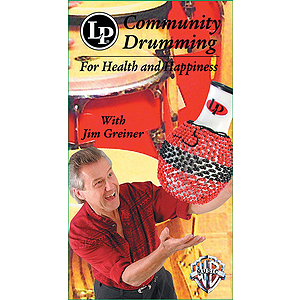 Community Drumming For Health And Happiness Video (VHS)