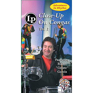 Adventures In Rhythm Volume 1 Close-Up On Congas Video (VHS)