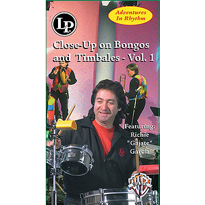 Adventures In Rhythm Volume 2 Close-Up On Bongos And Timbales Video (VHS)