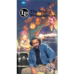 Luis Conte - Studio Percussionist Volume 1 Video (VHS)