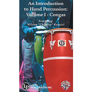 An Introduction To Hand Percussion Volume 1: Congas Video (VHS)