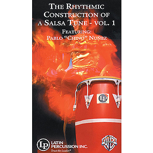Rhythmic Construction Of A Salsa Tune Volume 1 Video (VHS)