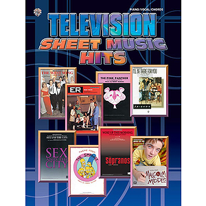 Tv Sheet Music Hits