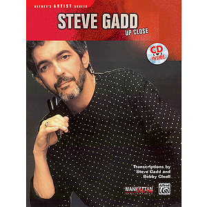 Steve Gadd - Up Close CD Included