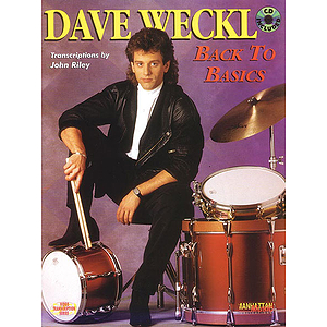 Dave Weckl - Back To Basics Book And CD
