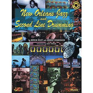 New Orleans Jazz And Second Line Drumming CD Included