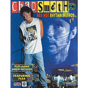 Chad Smith - Red Hot Rhythm Method Play Long Audio Included Featuring Flea CD Included