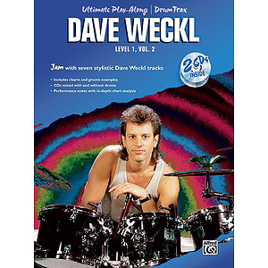 Ultimate Play-Along For Drum Level 1-Vol. 2 CD Included