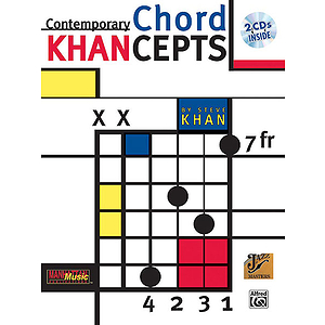 Steve Khan - Contemporary Chord Khancepts Play-Along 2 CDs Included