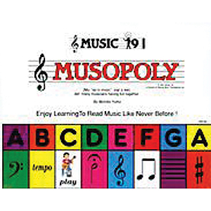 Musopoly  New & Expanded