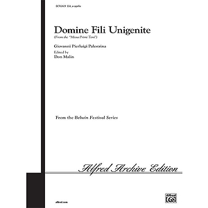 Domine Fili Unigenite