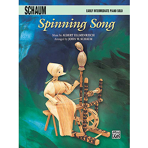 Spinning Song By Albert Ellmenreich Arranged By John W. Schaum