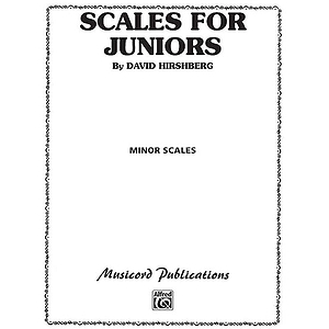 Scales For Juniors Part 2 Minor