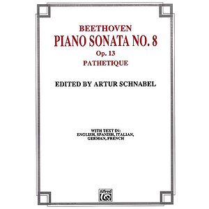 Beethoven Piano Sonata No. 8 In C Minor Op.13 Pathetique
