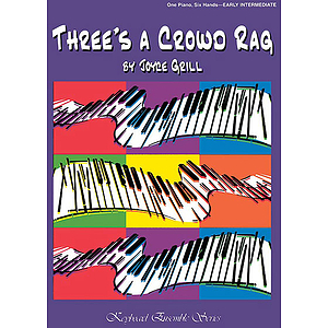 Three's A Crowd Rag For One Piano Six Hands