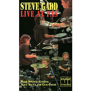 Steve Gadd - Live At Pas 95 Video (VHS)