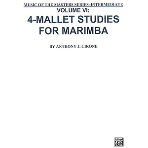 4-Mallet Studies/Vol 6/Musicm