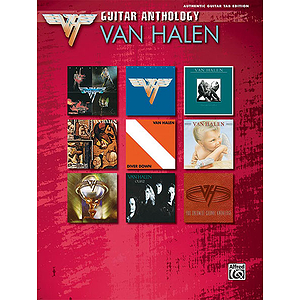 Van Halen Guitar Anthology Series