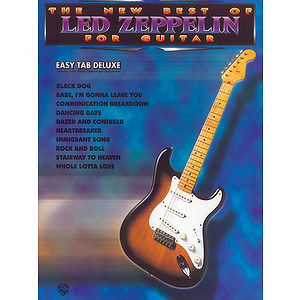Led Zeppelin - New Best Of Led Zeppelin For Easy Guitar
