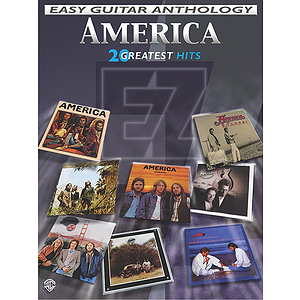 America - Easy Guitar Anthology 20 Greatest Hits