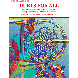 Duets For All (Tenor Saxophone)