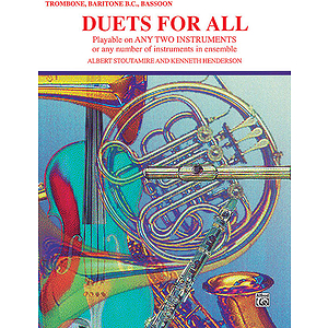 Duets For All (Trombone Baritone B.c. Bassoon