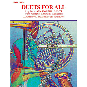 Duets For All (Snare Drum)