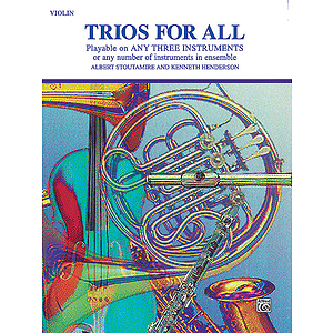 Trios For All (Violin)