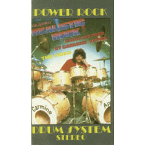 Carmine Appice - Realistic Rock Drum Method Video (VHS)